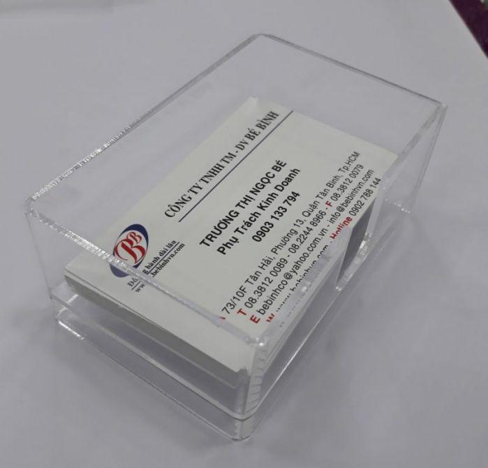1 hộp card visit gồm bao nhiêu cái?