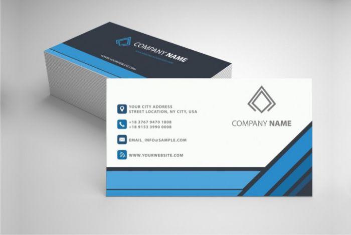 mẫu business card chuyên nghiệp