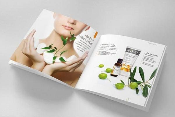 Thiết kế catalogue mỹ phẩm chuyên nghiệp