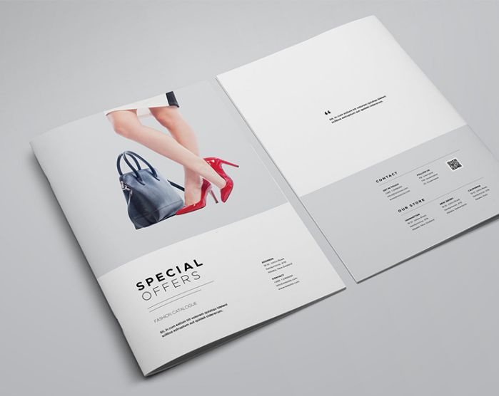 mẫu thiết kế catalog thời trang