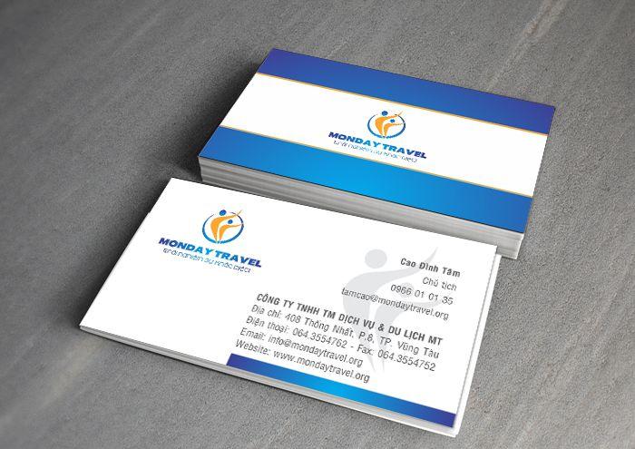 Thông tin trên card visit