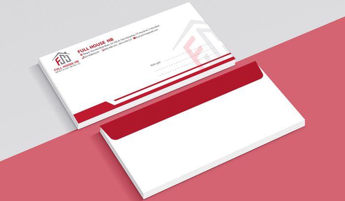 Các loại phong bì thư phổ biến trong doanh nghiệp