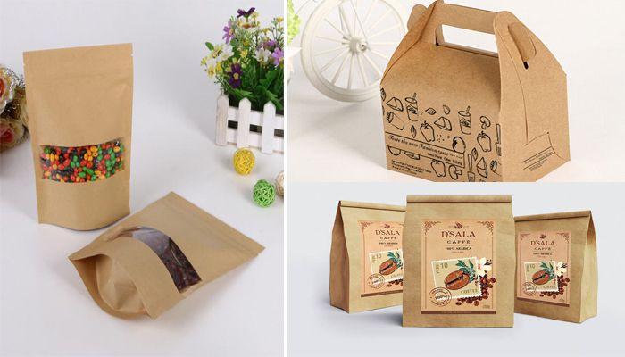 In túi giấy đựng thực phẩm đẹp