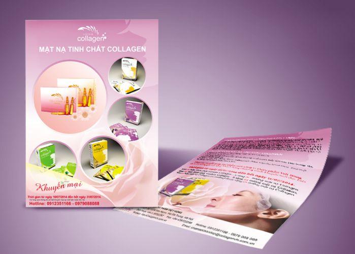 mẫu leaflet chuyên nghiệp