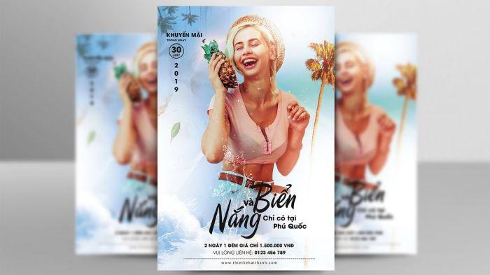 mẫu thiết kế poster âm nhạc độc đáo
