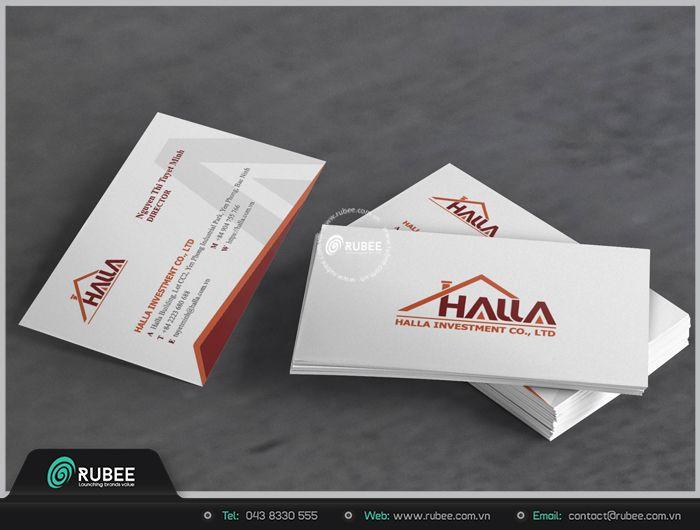 thiết kế card visit chuyên nghiệp tại Rubê