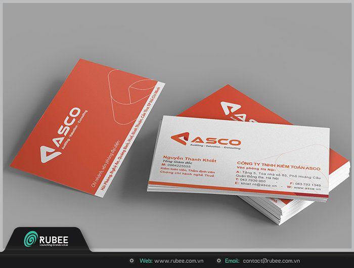 thiết kế card visit tại Rubee