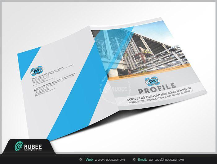 Thiết kế và in ấn profile công ty uy tín